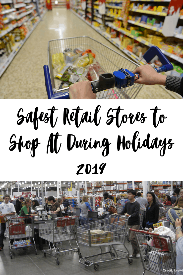 Safest Retail Stores to Shop At During Holidays 2019