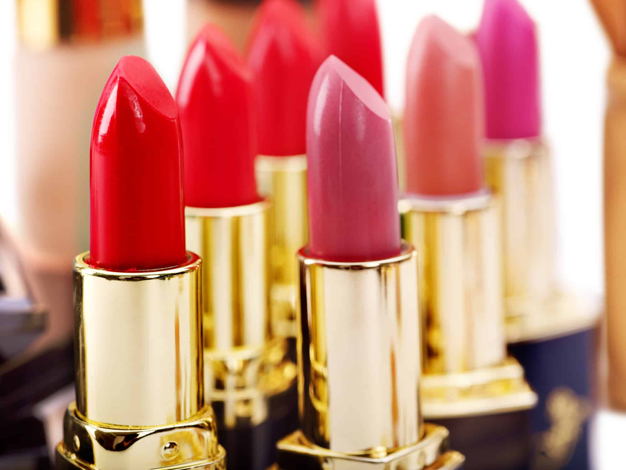 Group of Lipsticks standing