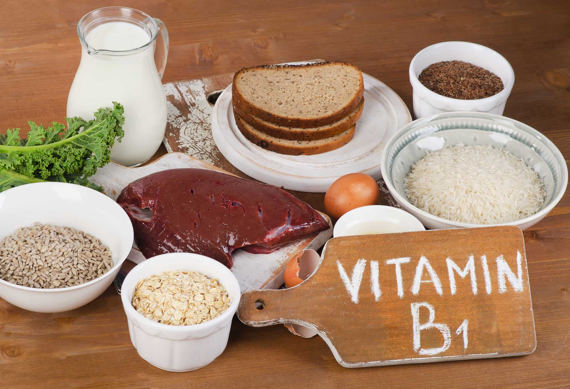 Foods Highest in Thiamin (Vitamin B1)