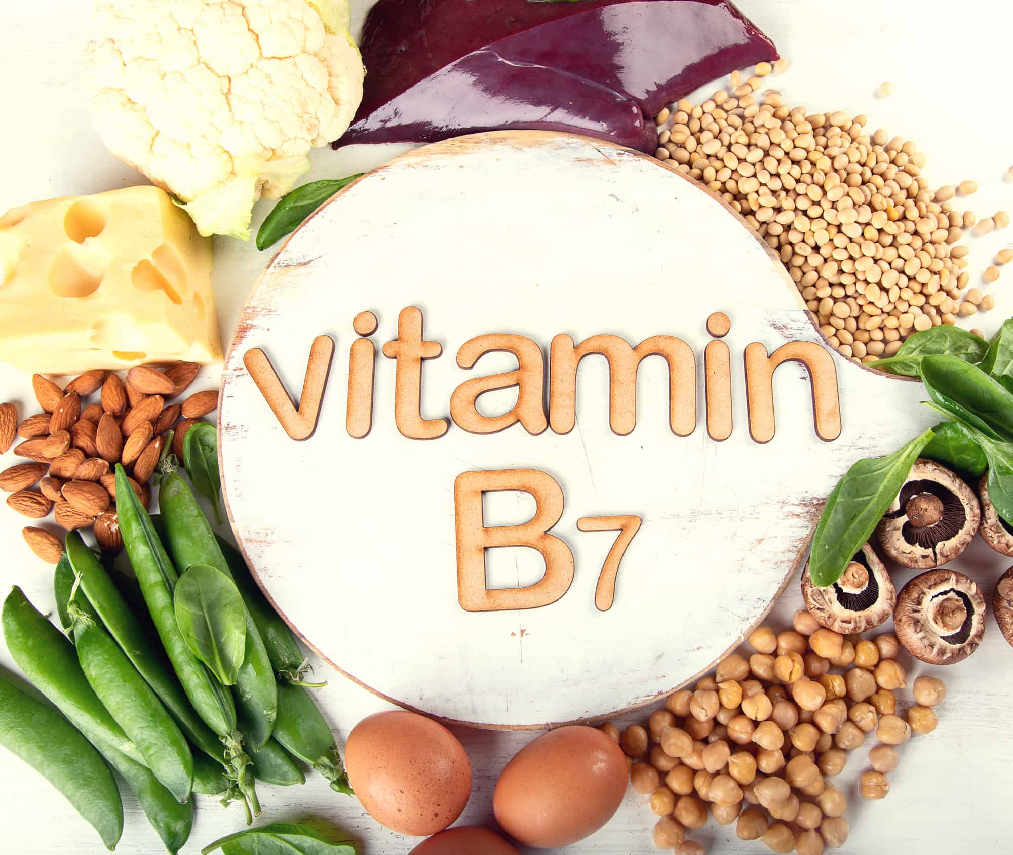 Foods rich in vitamin B7 (Biotin)