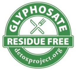glyphosate residue-free certification for wines from Detox Project