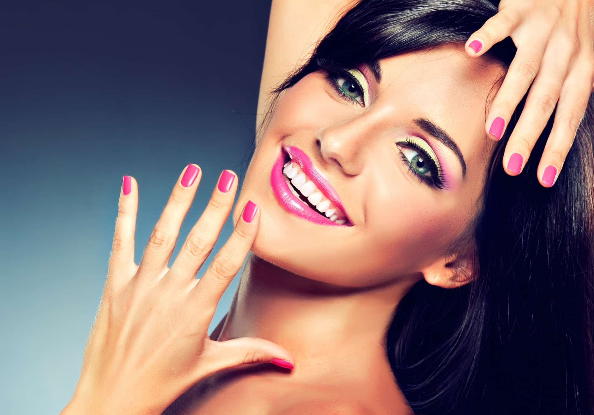 hot pink 5 free non-toxic nail polish