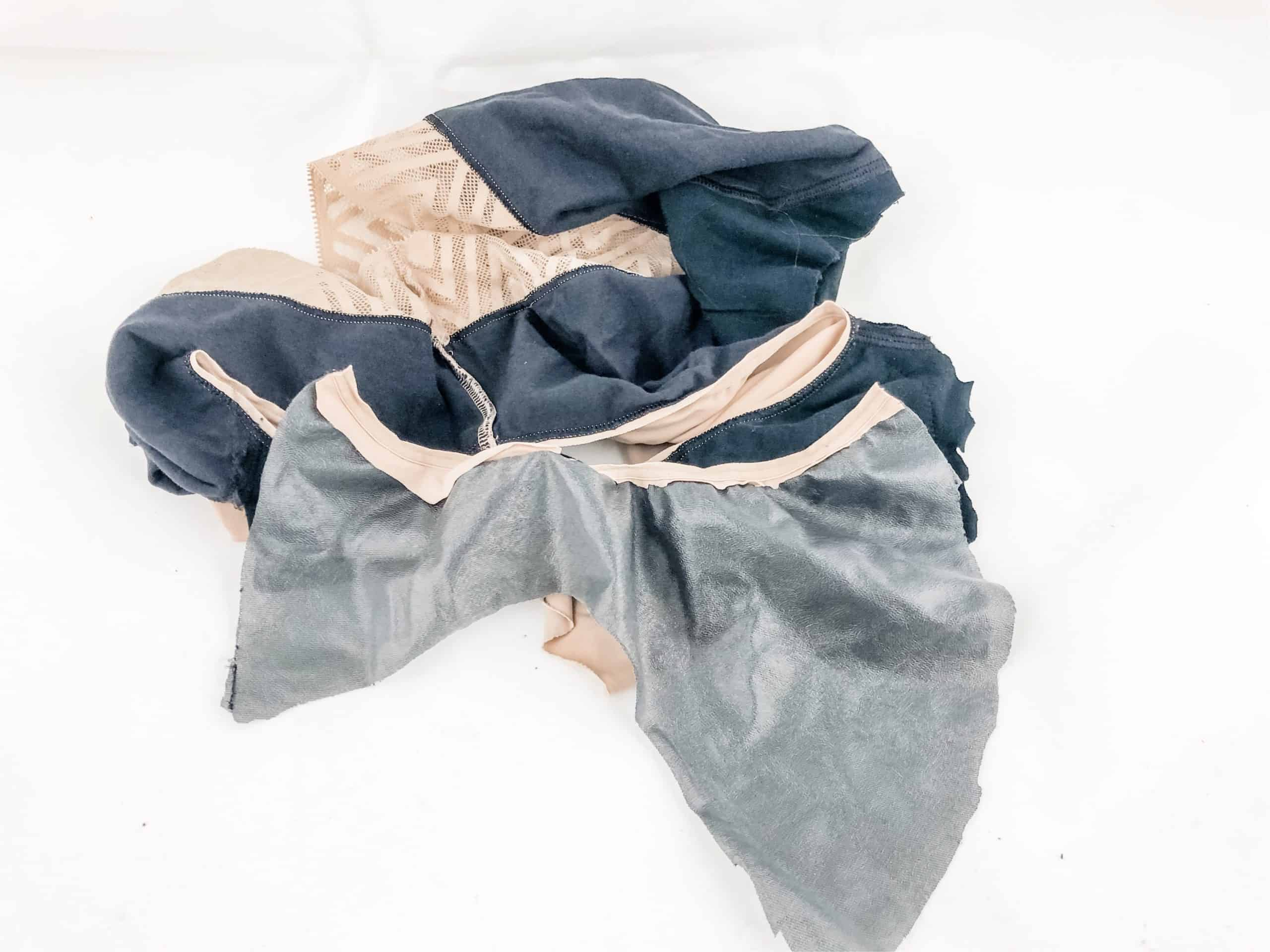 Thinx Period Panties cut up so they expose the inner gusset