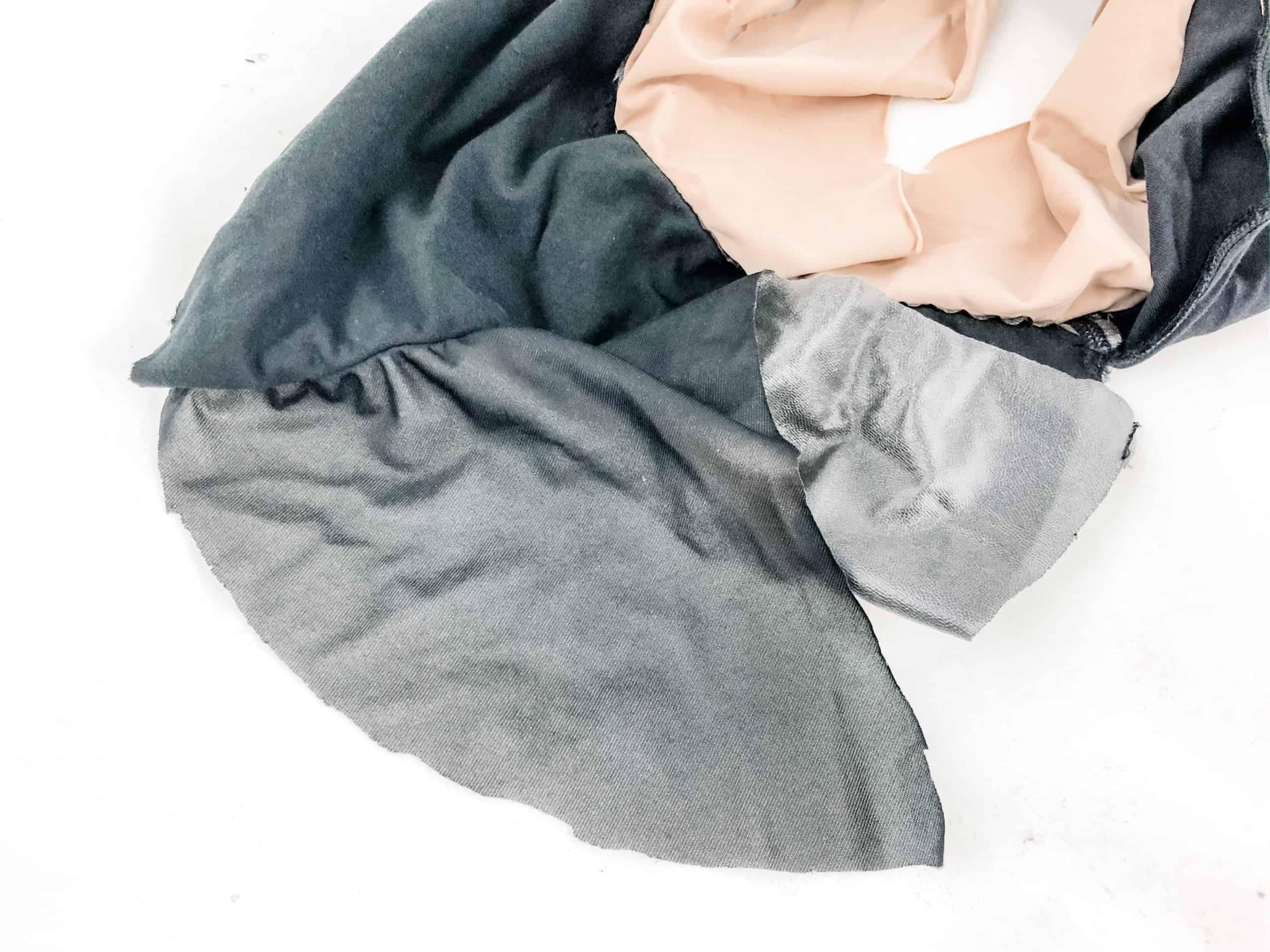 Thinx Period Panties cut apart