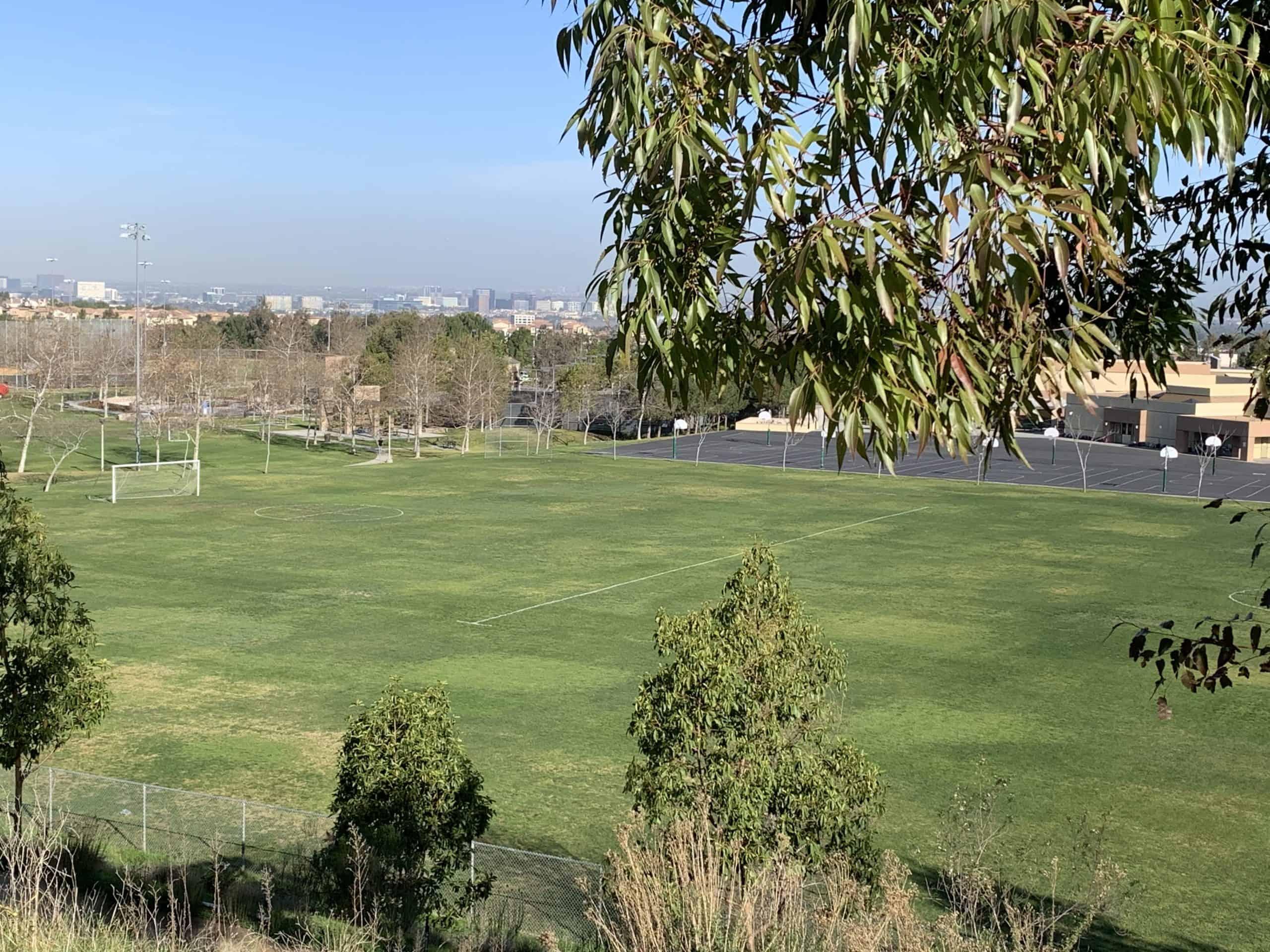 School site organic land care in irvine, CA