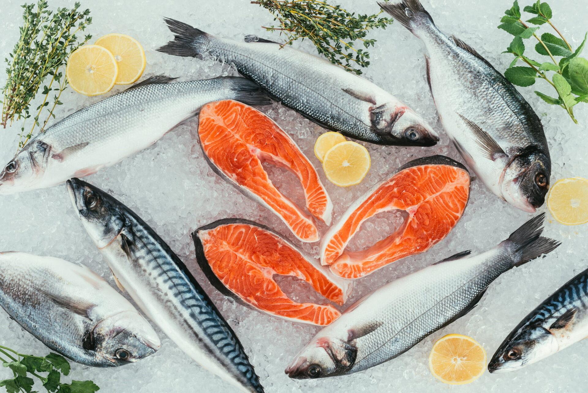 Wild caught alaskan salmon
