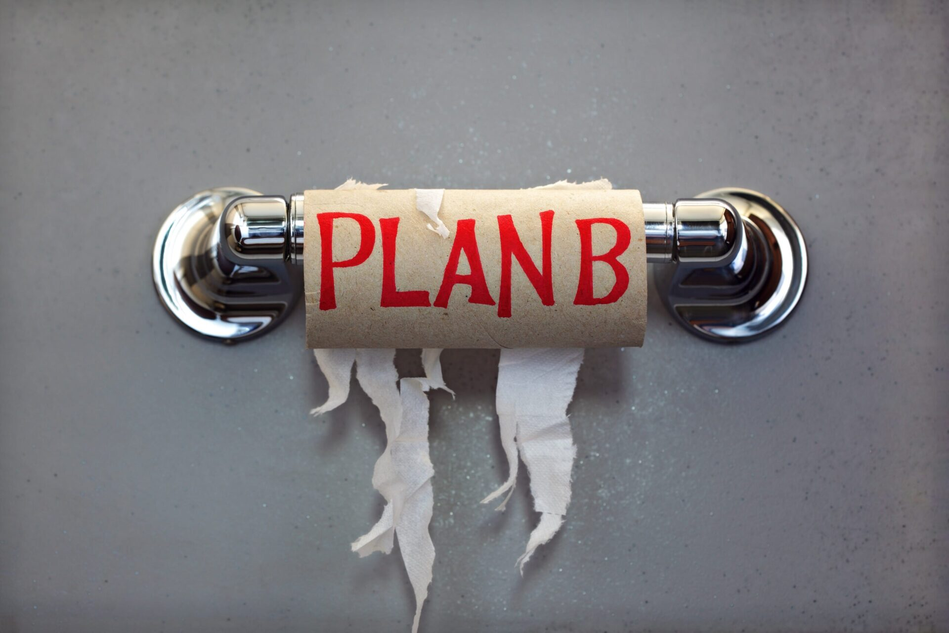 Plan B for less toilet paper