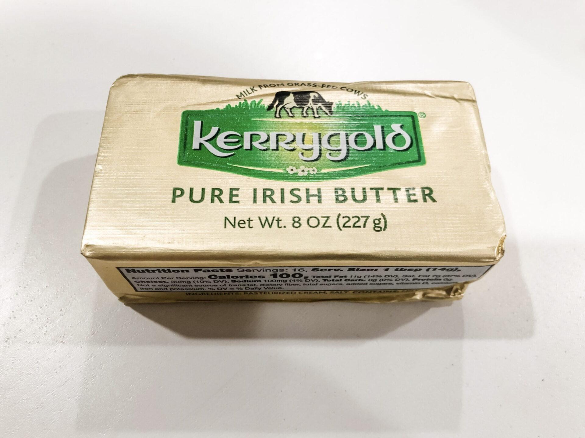 DDT Test Results--Kerrygold Irish Butter 1