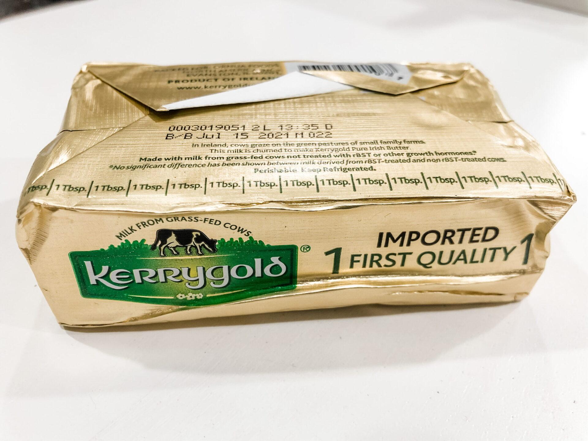 DDT Test Results--Kerrygold Irish Butter 2