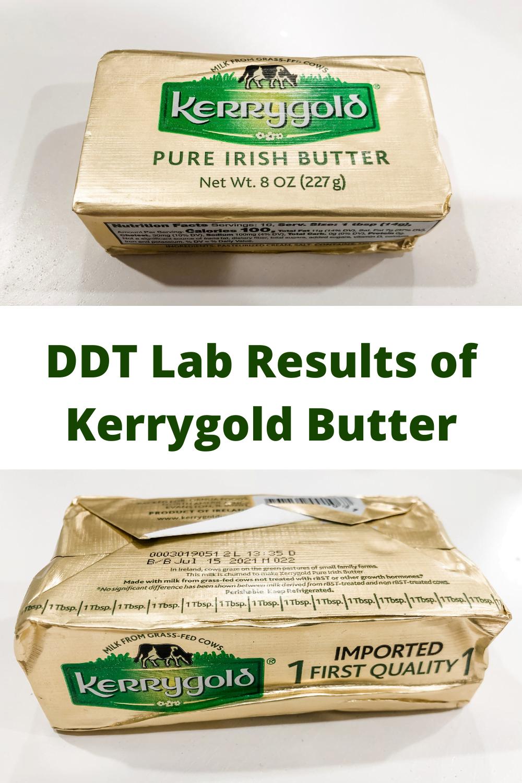 DDT Test Results--Kerrygold Irish Butter 4