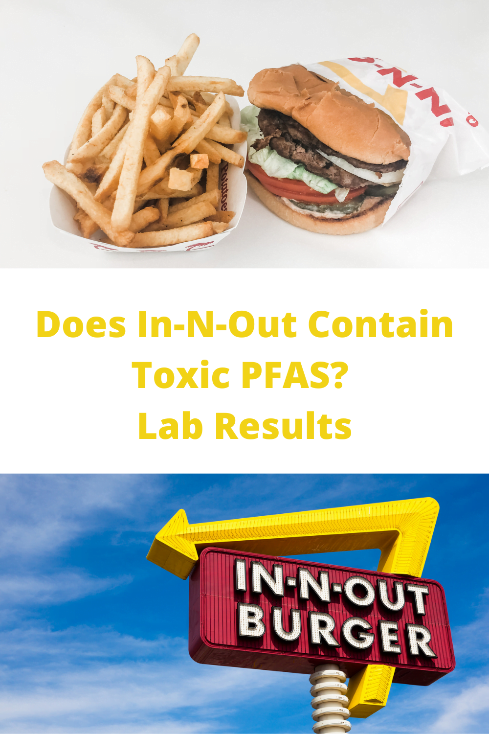 PFAS (Fluorine) Testing Results-- In-N-Out Burger Food Packaging 2
