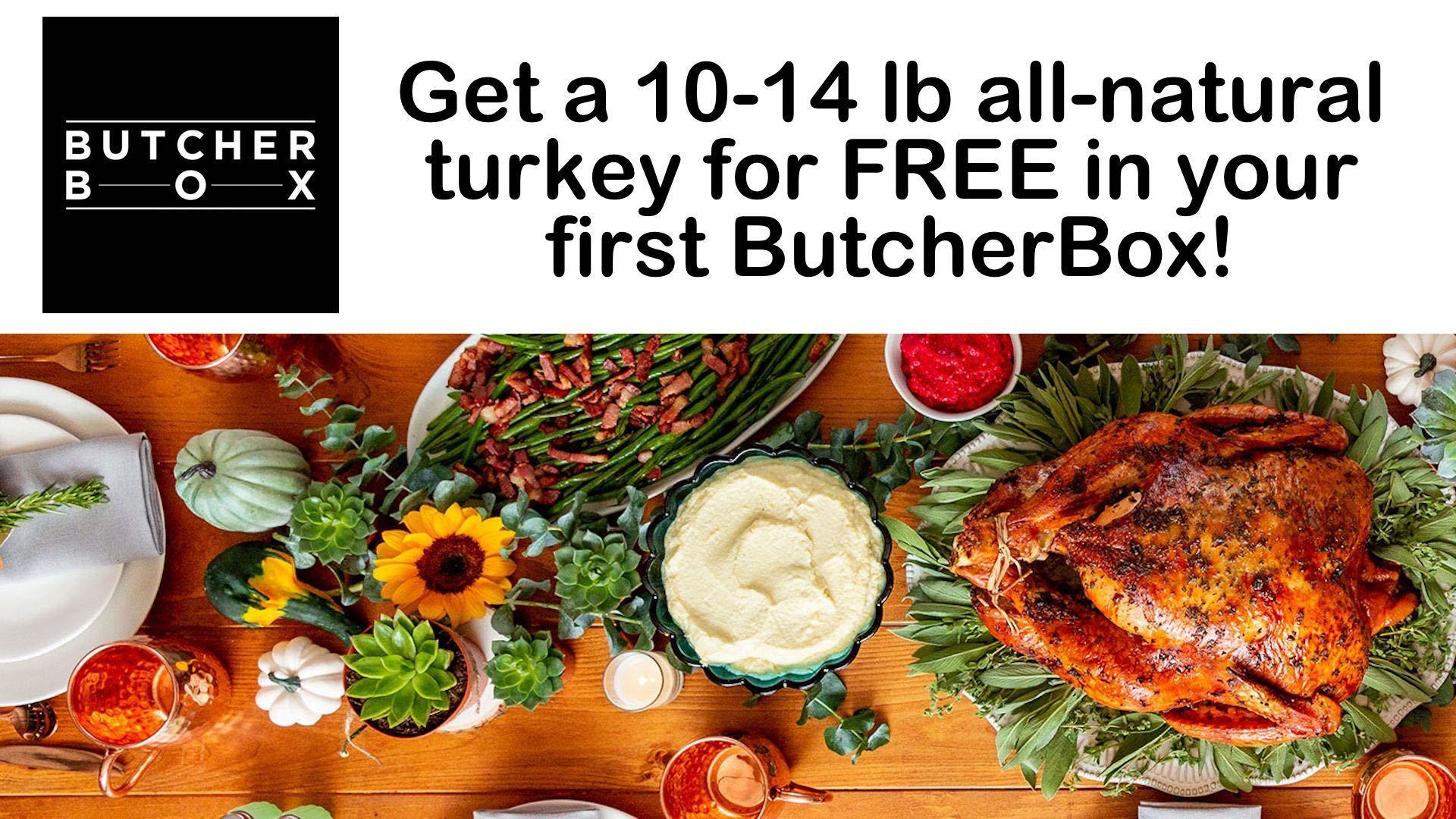 Butcherbox Turkey campaign