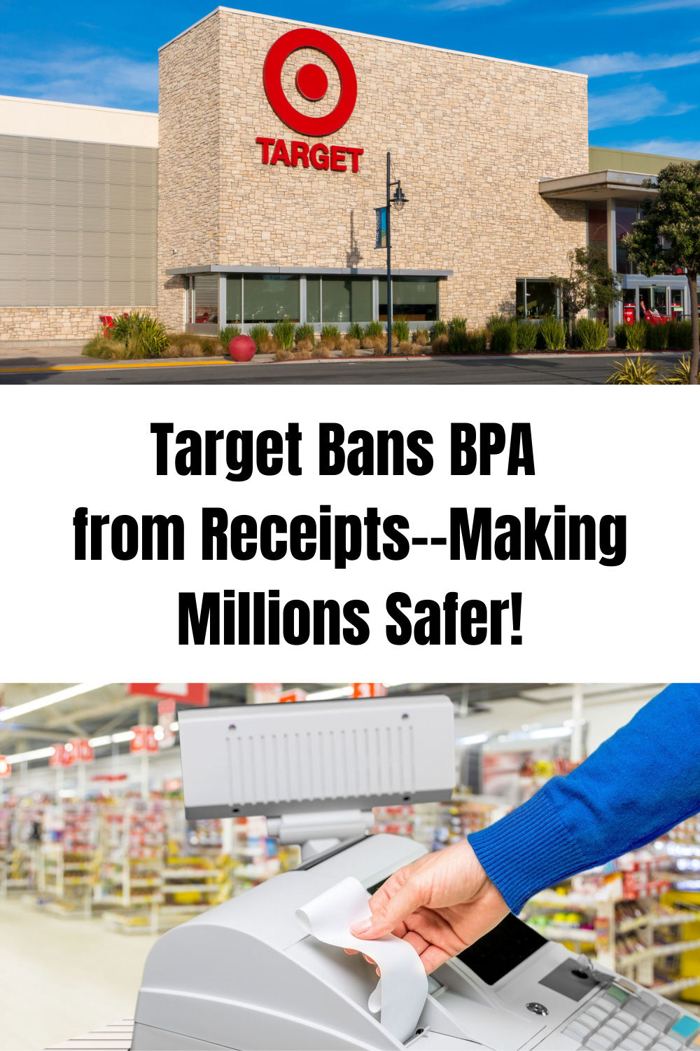VICTORY! Target Bans BPA from Receipts Making Millions Safer!