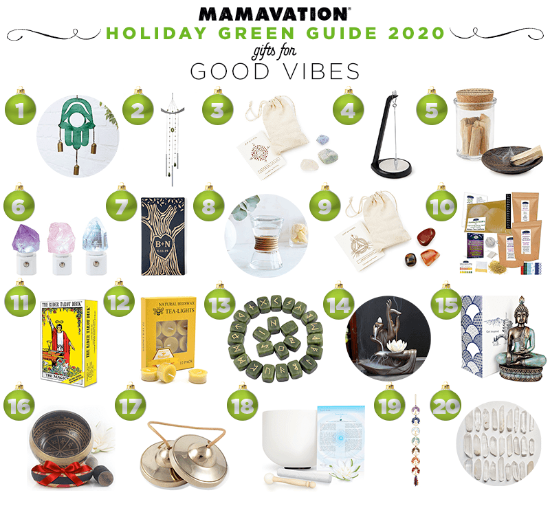 2020 Holiday good vibes gift giving guide