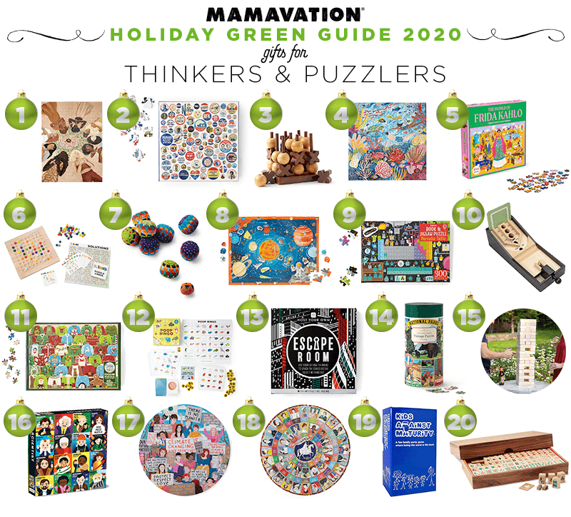 2020 Holiday gifts for thinkers & puzzlers