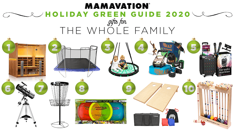 2020 Holiday gifts for the whole family
