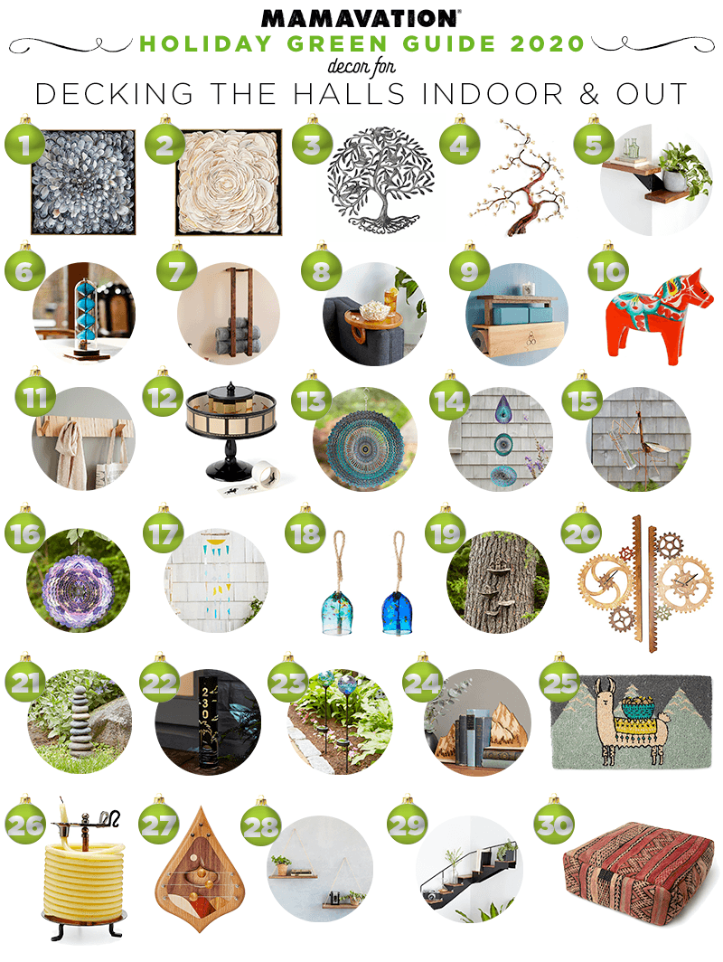 2020 Holiday gift giving guide for decor around the home