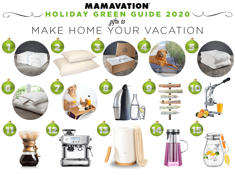 2020 Holiday gift giving guide to make home your vacation