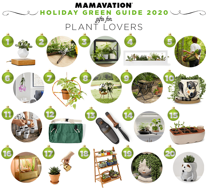 2020 Holiday gift giving guide for plant lovers