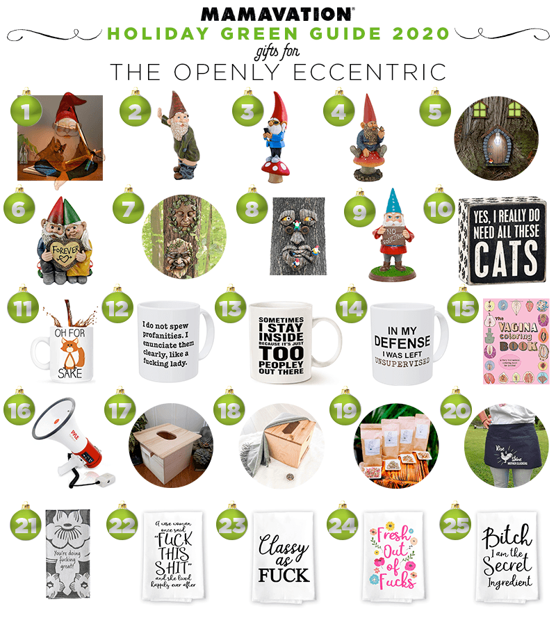 2020 Holiday gift giving guide to the openly eccentric