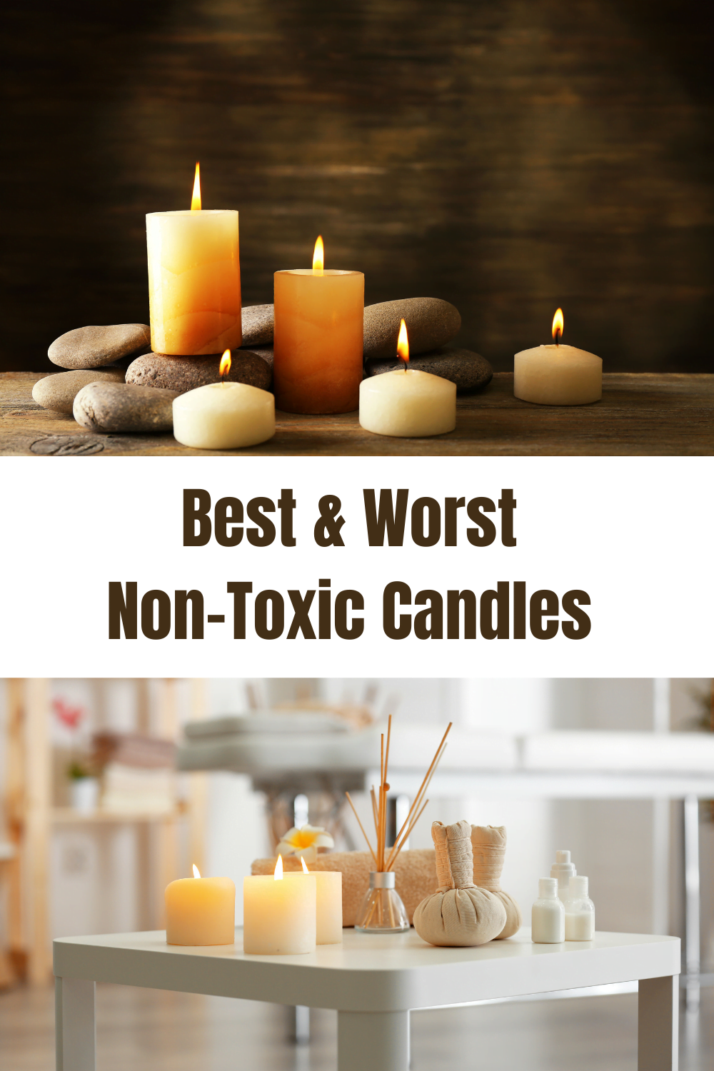 Best & Worst Non-toxic candles