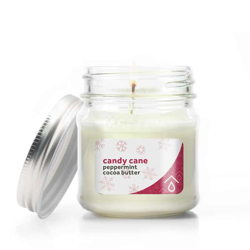 Pure Haven Peppermint Candle