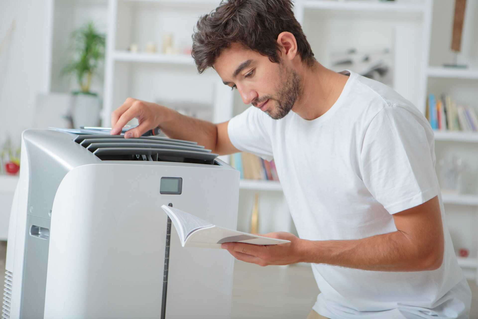 knowing the components and reading the space heater manual