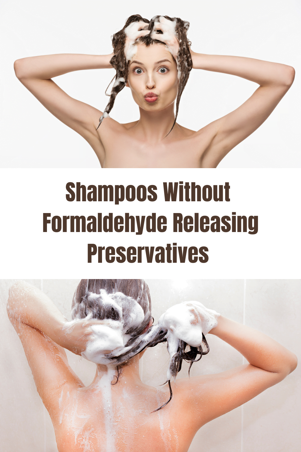 Shampoos Without DMDM Hydantoin & Other Formaldehyde Releasing Preservatives 2021 2