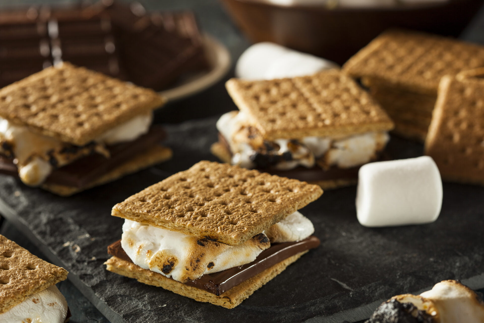 Graham Crackers and smores