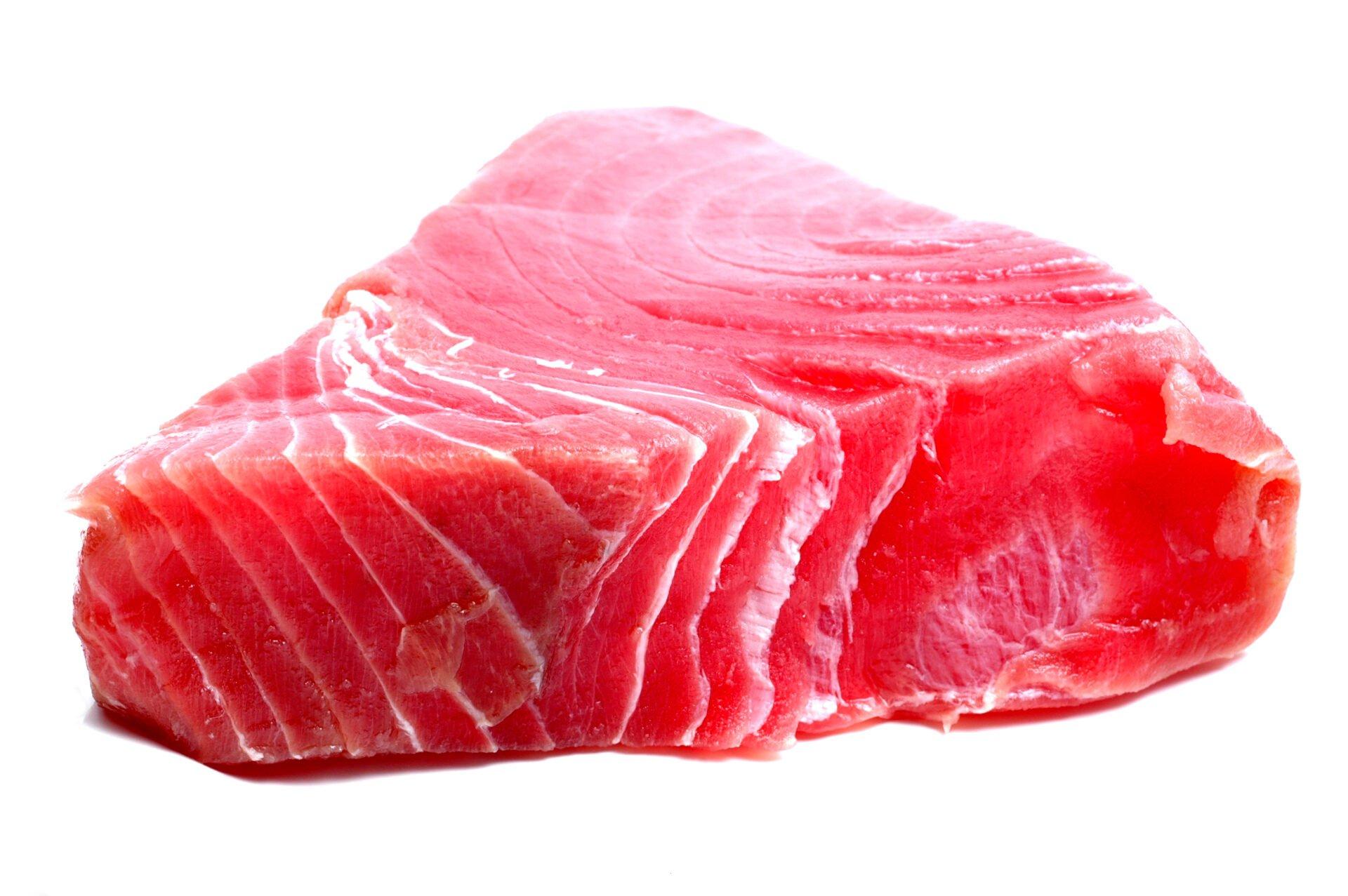 yellow fin tuna steak