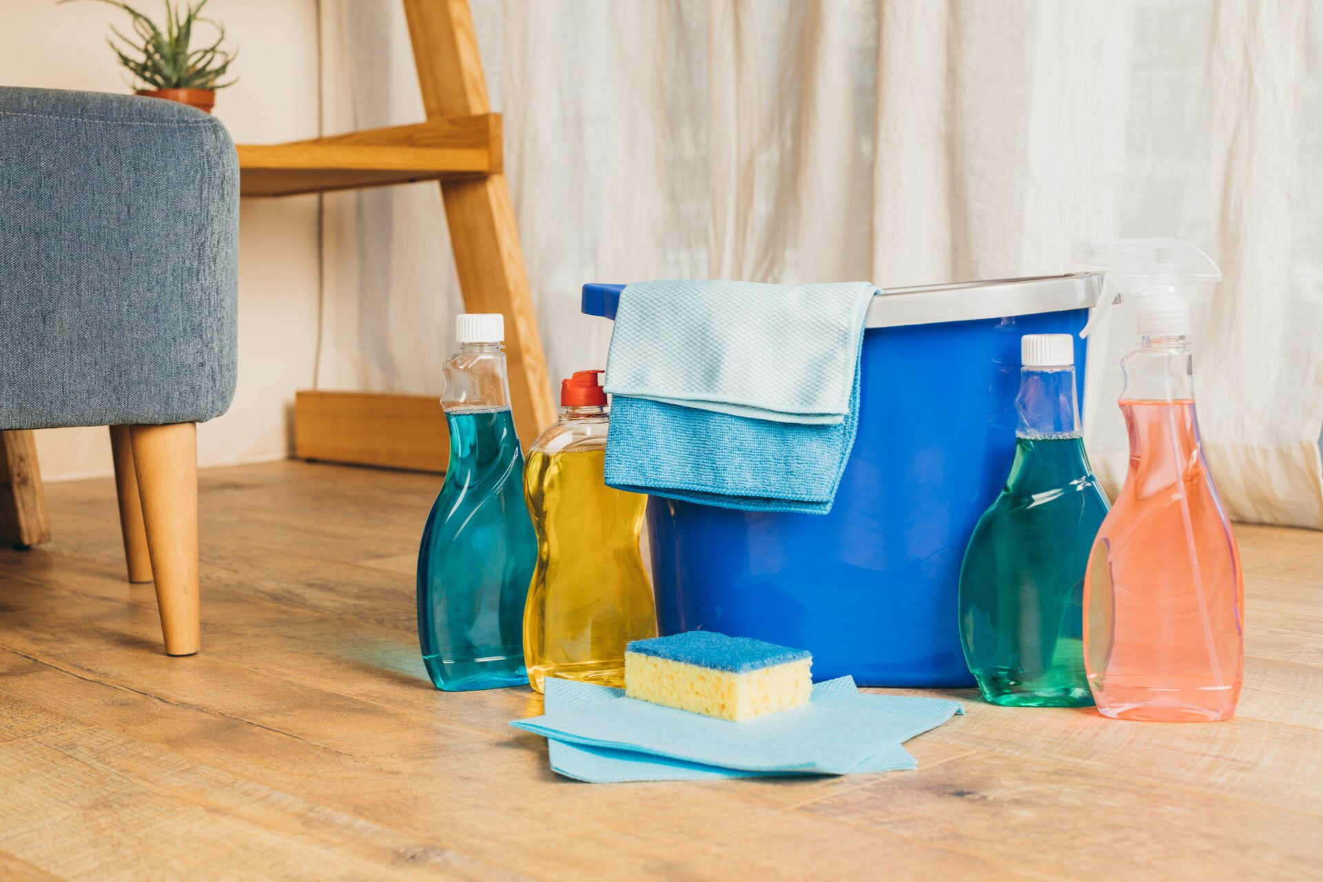 Cleaning products with Quats