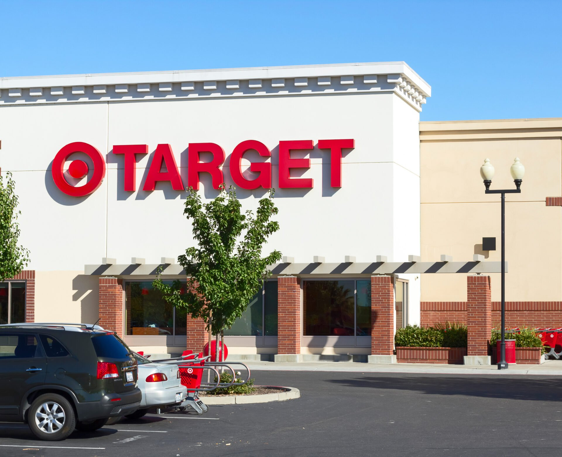 Target store on the outside