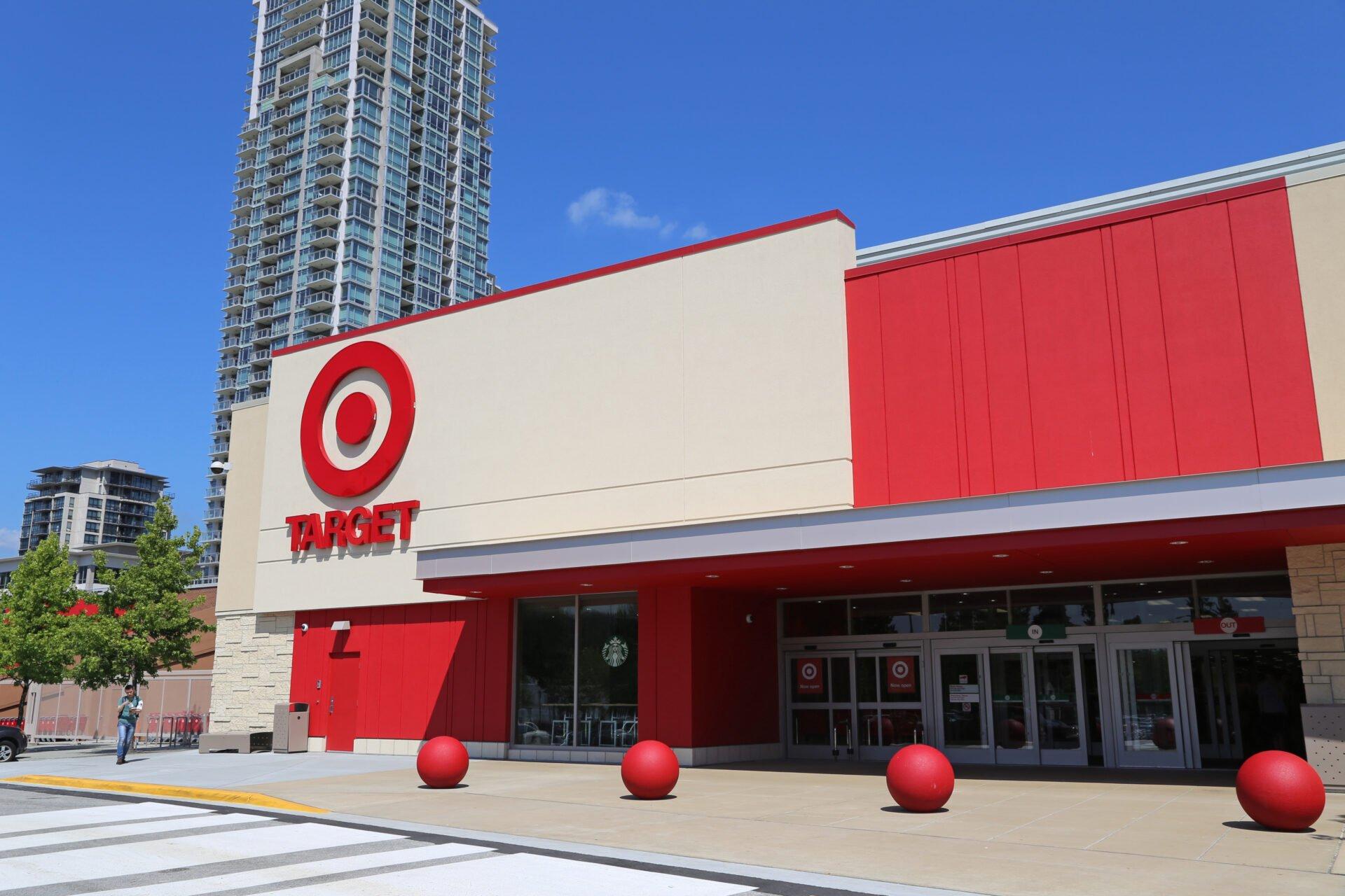 Target superstore in Canada