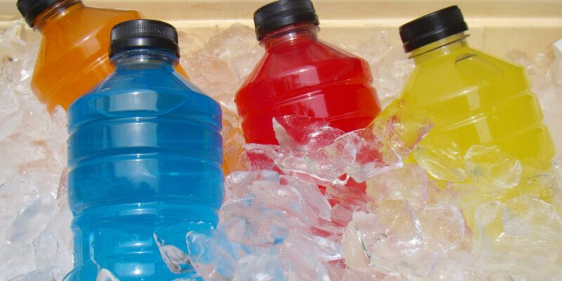 electrolyte replacement drinks