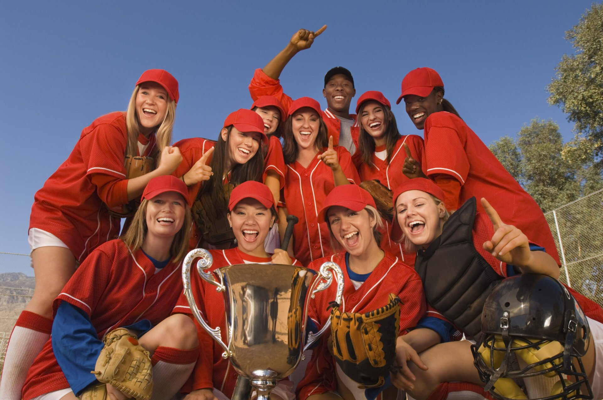 Victorious Softball Team picture
