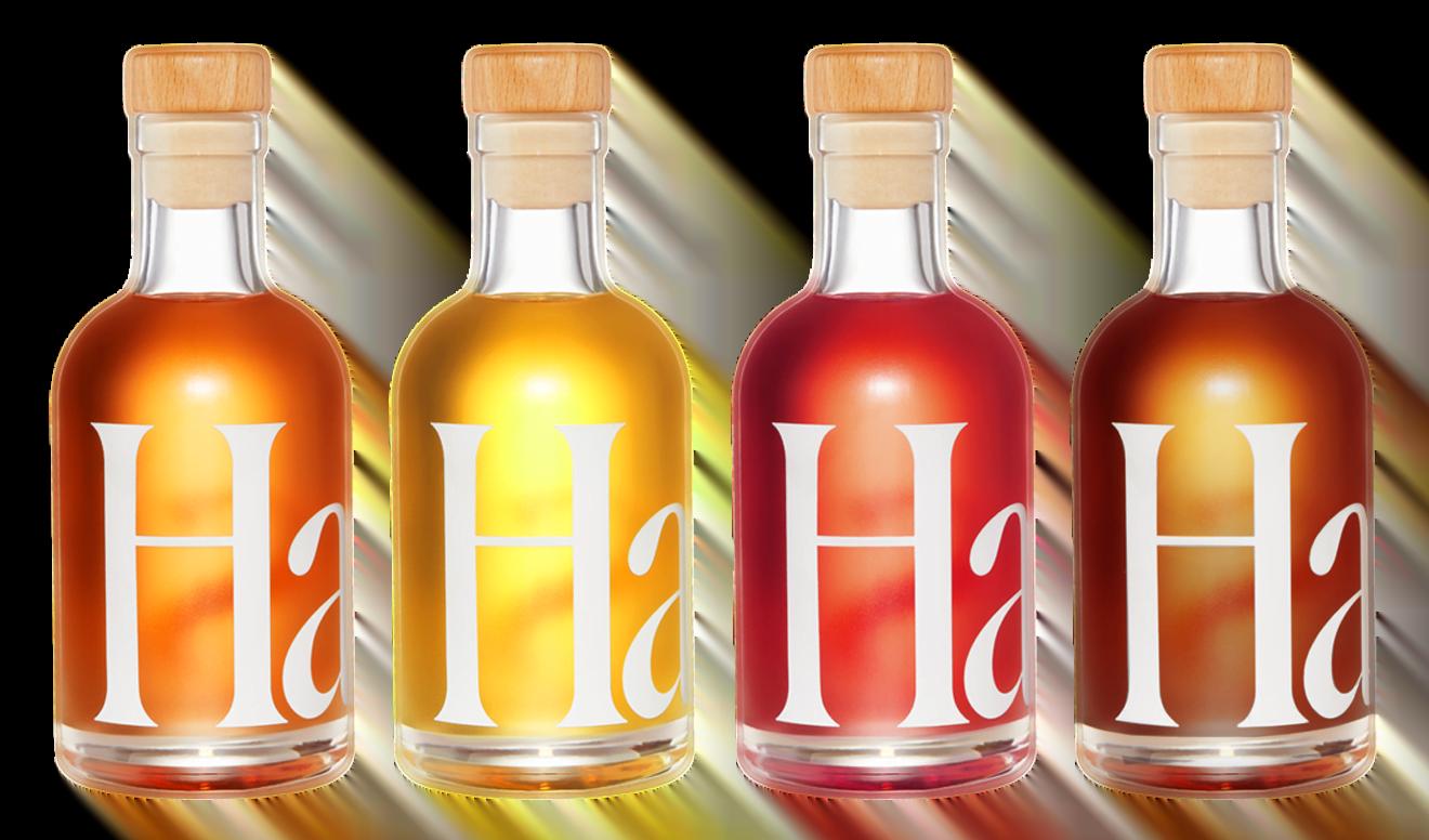 Haus Spritz in glass bottles