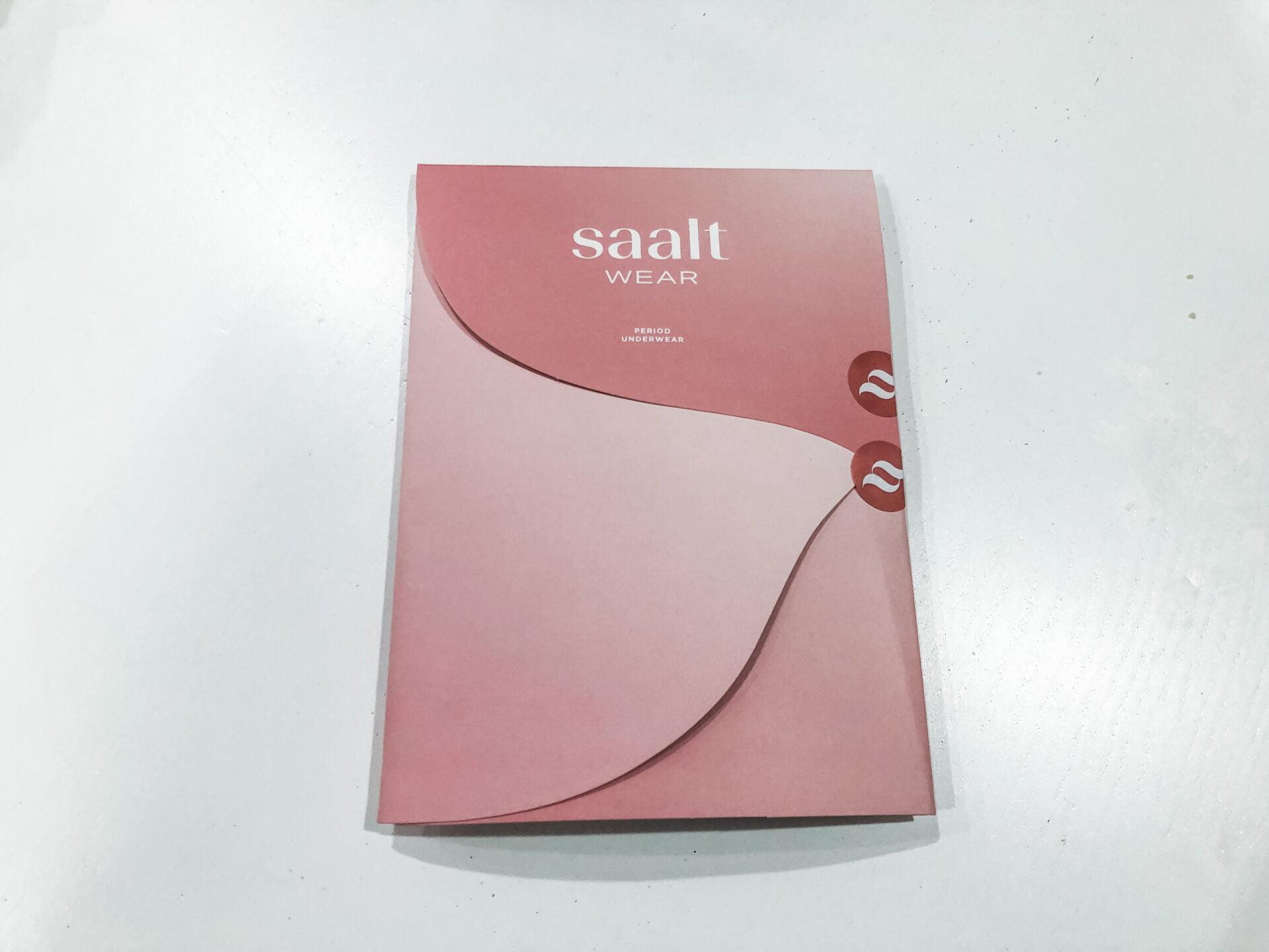 Saalt Period Underwear front cover