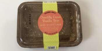"""Vanilla Chantilly Cake from Trader Joes PFAS """"Forever Chemicals"""" Lab Report"""