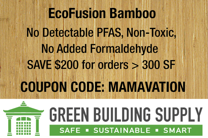 Green Building Network Discount Code on EcoFusion Bamboo Flooring